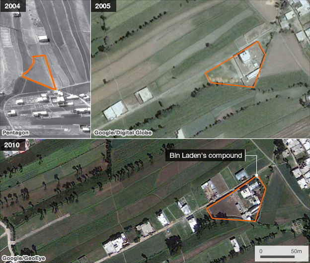 Compound images from 2004,5 and 2101