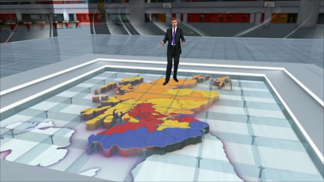Jeremy Vine and election graphics