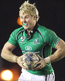 Fionn Carr is Connacht's record try-scorer