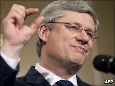 Canadian Prime Minister Stephen Harper
