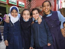 Pupils in Cairo