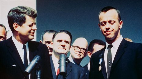 JFK and Alan Shepard