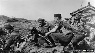 British troops in Korean War