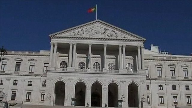Government building in Portugal