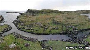 Rubh an Dunain peninsula on Skye. Pic: Edward Martin