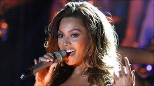 Beyonce oxegen