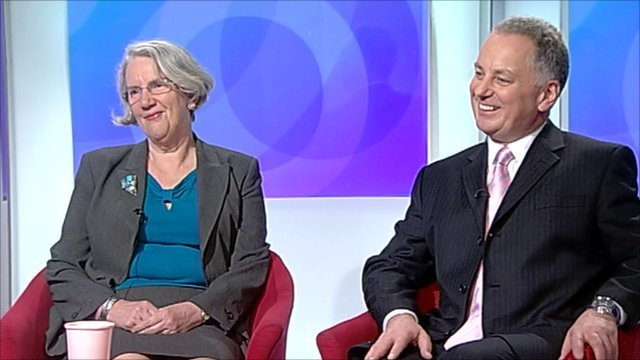 Baroness Jolly and Lord McConnell