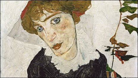 Portrait of Wally by Egon Schiele