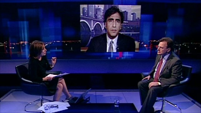 Kirsty Wark, John Radsan and Lord Goldsmith