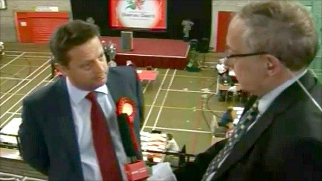 Labour's Blaenau Gwent AM Alun Davies