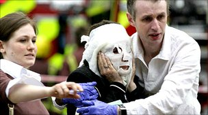 Victim of Edgware Road tube bombing, London, 7 July 2005