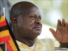 President Yoweri Museveni