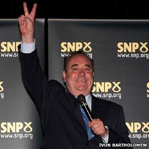 Alex Salmond, (pic courtsesy of Ivon Bartholomew)