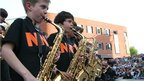 Saxophone Massive launches the Norfolk and Norwich Festival 2011