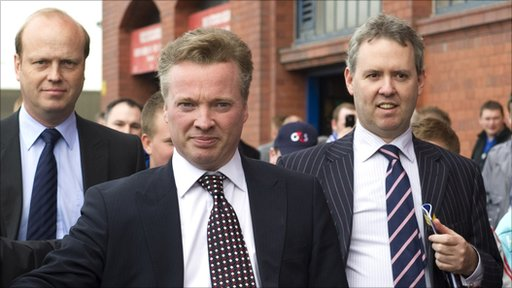 New Rangers owner Craig Whyte