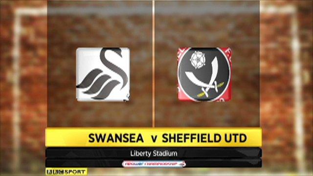 Swansea 4-0 Sheffield Utd