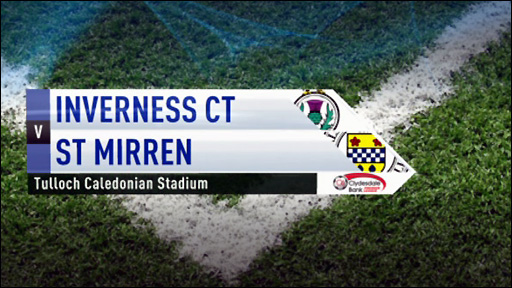 Highlights - Inverness CT v St Mirren