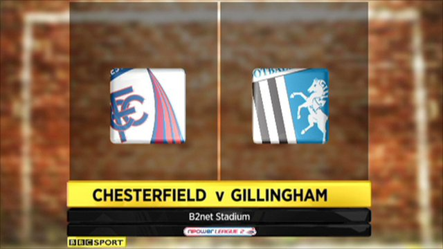 Chesterfield 3-1 Gillingham