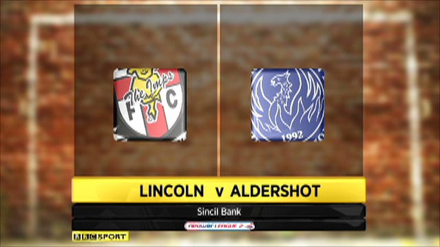 Lincoln City 0-3 Aldershot