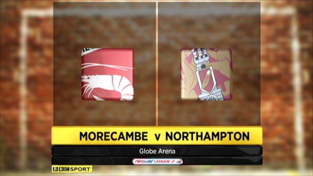 Morecambe 1-2 Northampton