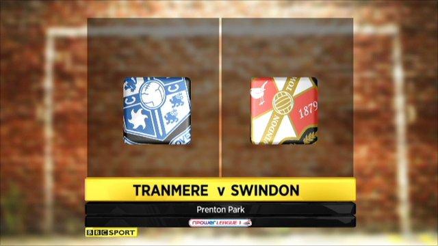 Tranmere 0-2 Swindon