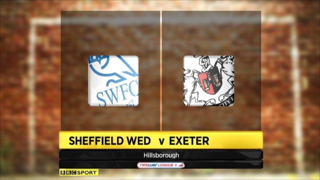 Sheff Wed 1-2 Exeter