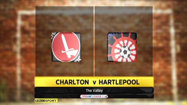 Charlton 0-0 Hartlepool