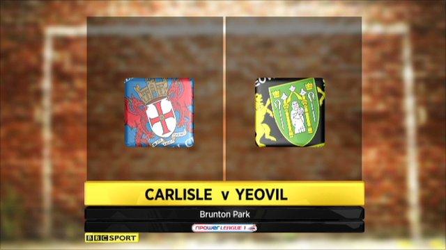 Carlisle 0-2 Yeovil