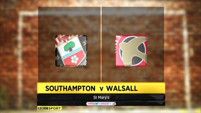 Southampton 3-1 Walsall