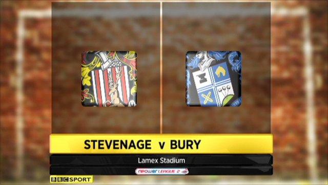 Stevenage 3-3 Bury