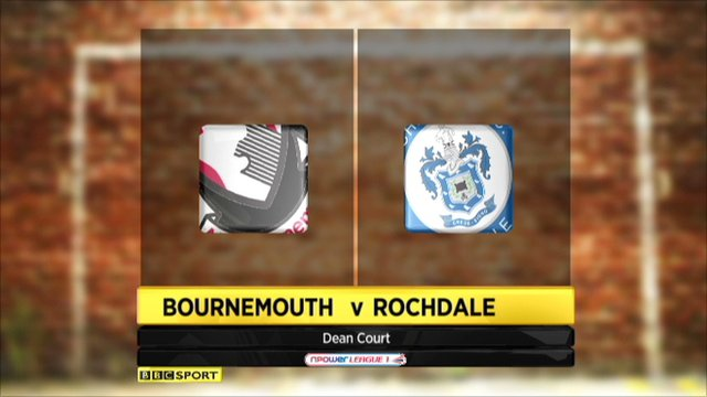 Bournemouth 1-2 Rochdale