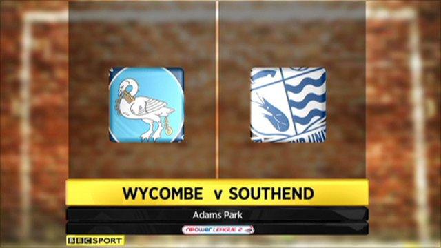 Wycombe 3-1 Southend