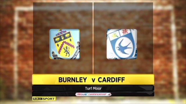 Burnley 1-1 Cardiff