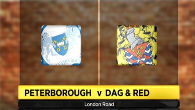 Peterborough 5-0 Dag & Red