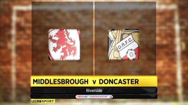 Middlesbrough 3-0 Doncaster