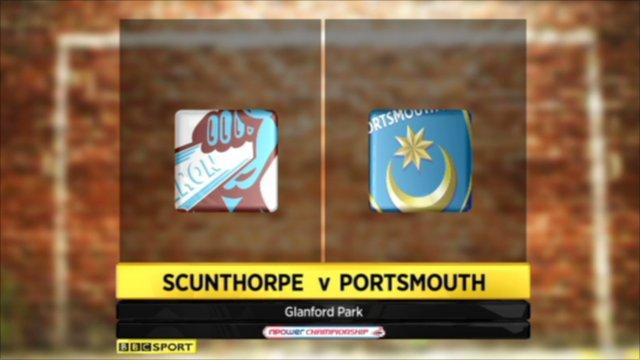 Scunthorpe 1-1 Portsmouth