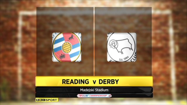 Highlights - Reading 2-1 Derby