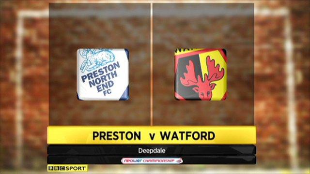 Preston 3-1 Watford