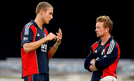 Stuart Broad talks to Paul Collingwood