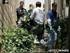 The Feds raid a medical cannabis club