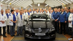 Volkswagen workers, May 2011