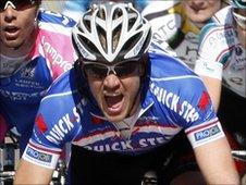 Belgian cyclist Wouter Weylandt