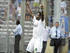 Nigeria's Taye Taiwo