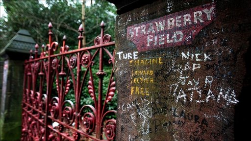 The gates of Strawberry Field in Liverpool