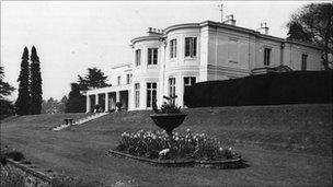 Tittenhurst Park in 1969