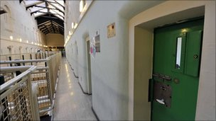 Prison corridor in Wormwood Scrubs