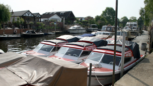 Boats at Taggs Boatyard