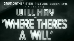 Title screen from Will Hay movie, YouTube