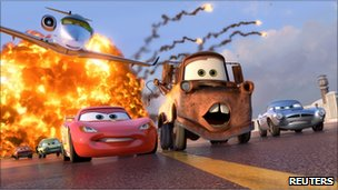 Cars 2 still, Reuters