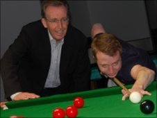 Terry Griffiths & Michael Wasley